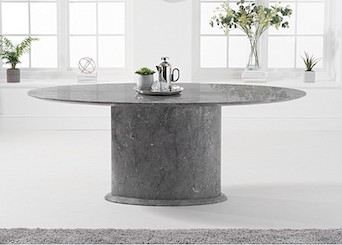 Oval Marble Dining Tables