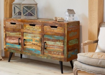 Coastal Chic Reclaimed Painted