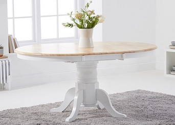 Oak & White Painted Tables