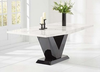 Rectangular Marble Tables