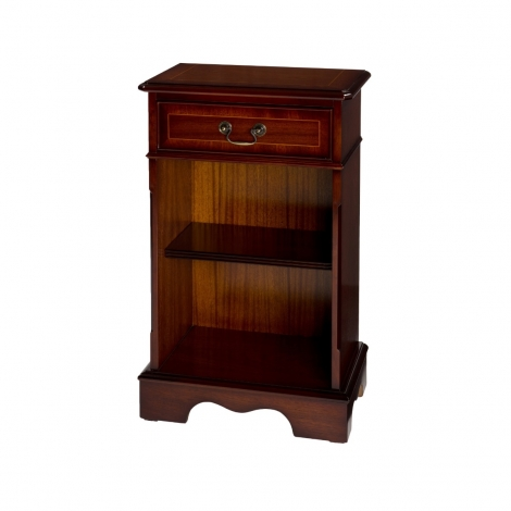 Ashmore Antique Reproduction, 1 Drawer Open Bookcase