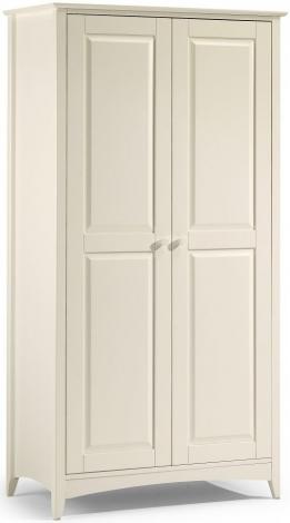 Cameo Stone White 2 Door Wardrobe