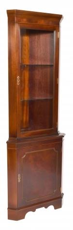 Bradley Antique Reproduction Single Corner Cabinet