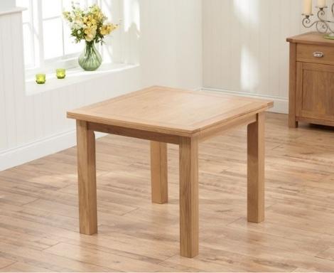 Sandringham Oak Dining Table - 90cm Flip Top Extending