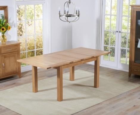 Cambridge 130cm - 200cm Extending Oak Dining Table
