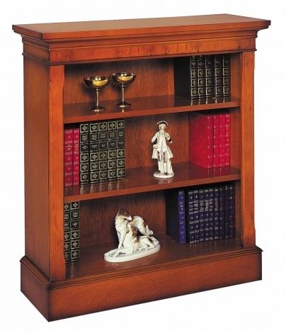 Bradley Antique Reproduction Low Bookcase
