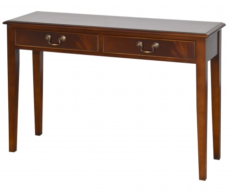 Bradley Antique Reproduction 2 Drawer Console Table