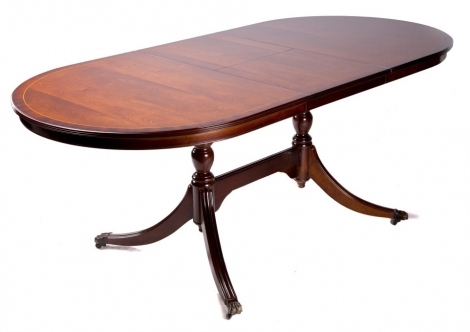 Ashmore Antique Reproduction, 7ft Flip over Dining Table