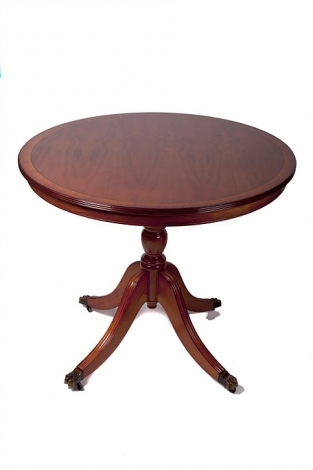 """Ashmore Antique Reproduction, 3ft 6"""" Round Dining Table"""