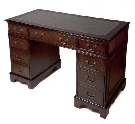 Ashmore Antique Reproduction, Executive Desk