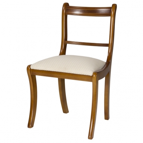 Ashmore Antique Reproduction, Scroll Dining Chair