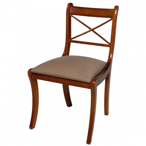 Ashmore Antique Reproduction, Scroll Cross Sticks Chair