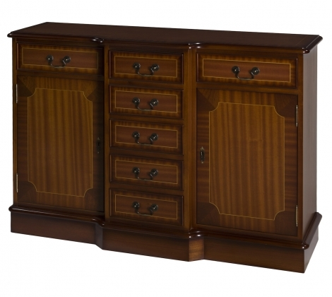 Ashmore Antique Reproduction, 4ft Breakfront Sideboard