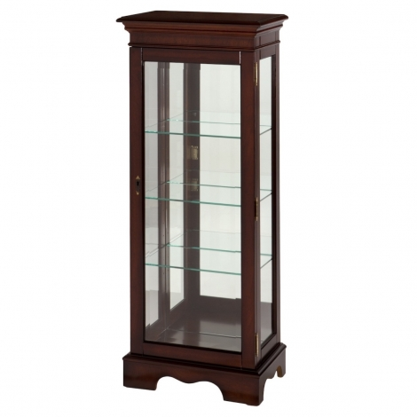 Ashmore Antique Reproduction, Single Display Cabinet