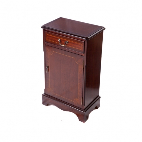 Ashmore Antique Reproduction, 1 Drawer Closed Bookcase