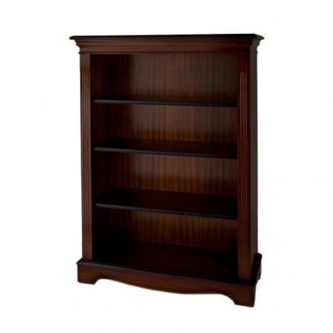 Ashmore Antique Reproduction, Open Bookcase 4ft