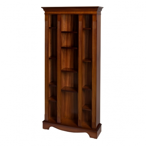 Ashmore Antique Reproduction, Large CD/DVD Bookcase
