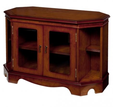 Ashmore Antique Reproduction, Large Corner TV Cabinet