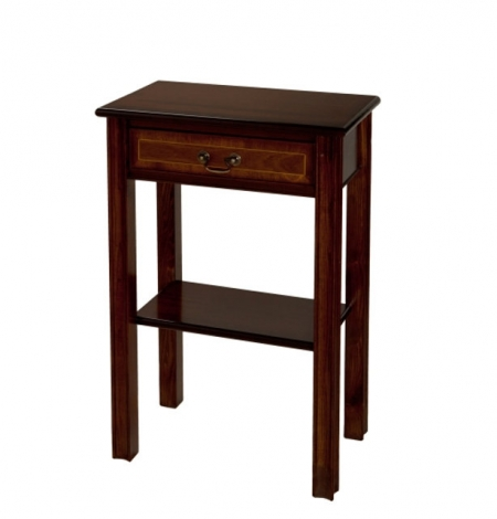 Ashmore Antique Reproduction, 1 Drawer Chippendale Hall Table