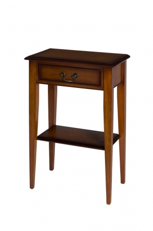 Ashmore Antique Reproduction, 1 Drawer Sheraton Hall Table