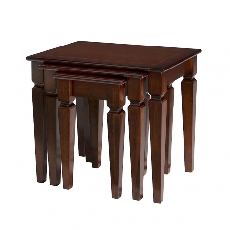 Ashmore Antique Reproduction, Classic Nest Of Tables