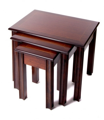 Ashmore Antique Reproduction, Chippendale Nest of Tables