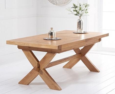 Avignon 200cm - 240cm Light Oak Extending Dining Table