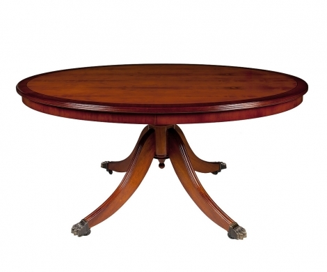 """Ashmore Antique Reproduction, 48"""" Coffee Table"""