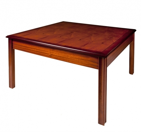 """Ashmore Antique Reproduction, 36 x 36"""" Coffee Table"""