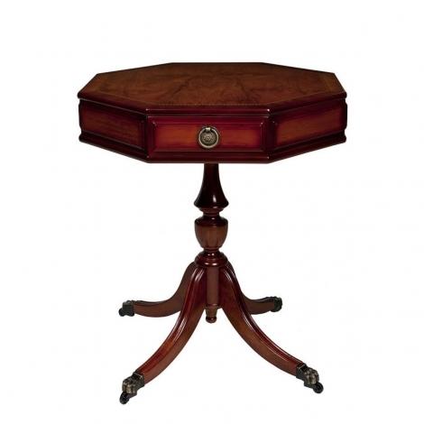 Ashmore Antique Reproduction, Hexagonal Drum Table