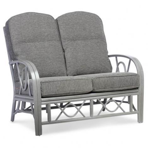Desser, Bali Grey Wash Cane 2 Seater Sofa