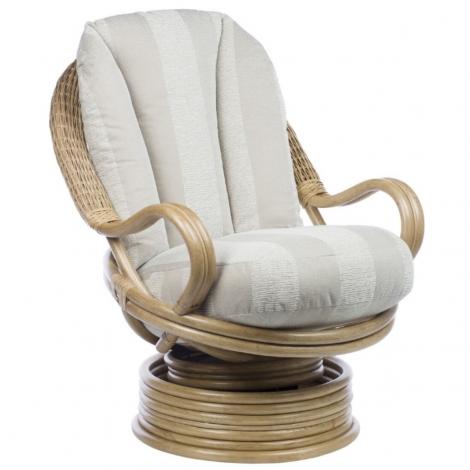 Desser, Centurion, Light Oak, Deluxe, Swivel Rocker Chair