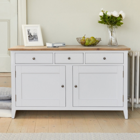 Autograph Grey Painted Large Sideboard