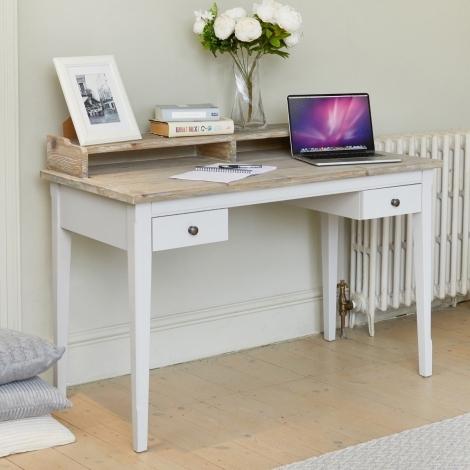 Autograph Grey Painted Desk / Dressing Table