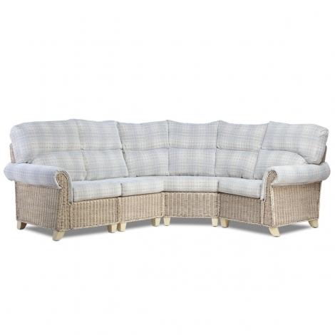 Desser, Clifton, Natural Wash, Cane 4 Piece Corner Sofa