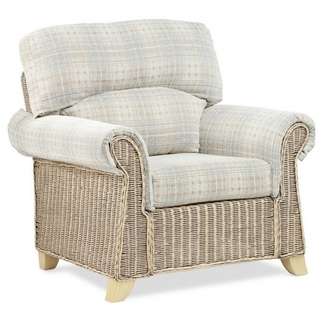 Desser, Clifton, Natural Wash, Cane Arm Chair