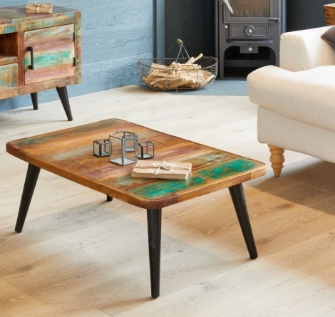Reclaimed Painted Coffee Table