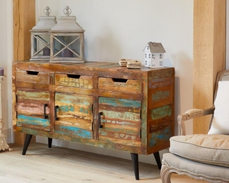 Reclaimed Painted Large Sideboard
