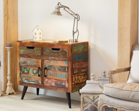 Reclaimed Painted Small Sideboard
