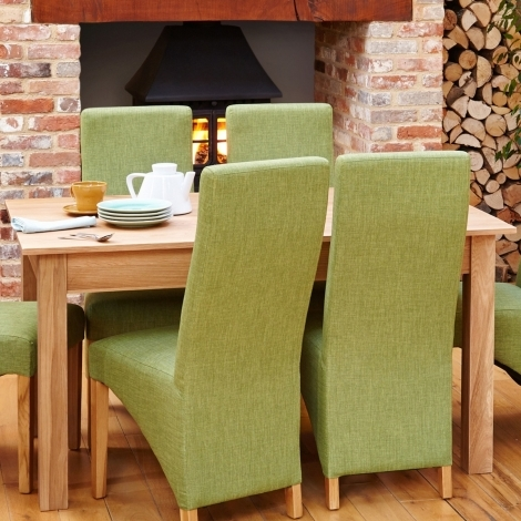Baumhaus Mobel Oak 150cm Fixed Top Dining Table