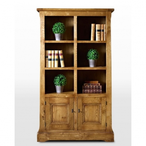 Wood Bros Chatsworth Bookcase with Doors CT2882