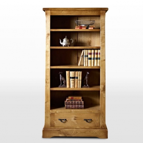 Wood Bros Chatsworth Bookcase with Drawer CT2881