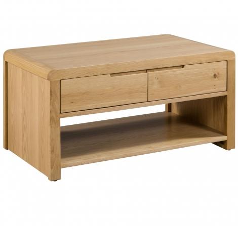 Geo, Oak, Coffee Table