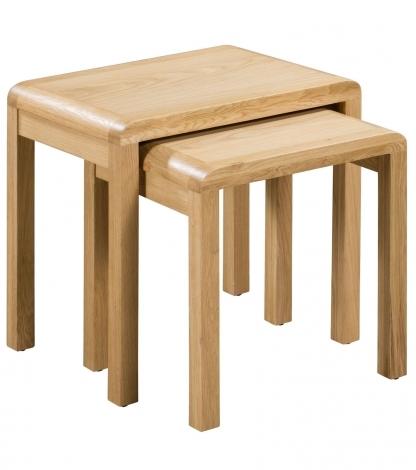 Geo, Oak, Nest of Tables