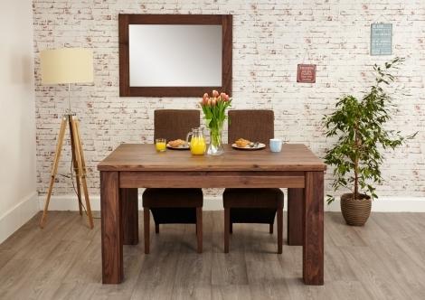 Macan Walnut 150cm - 208cm Extending Dining Table