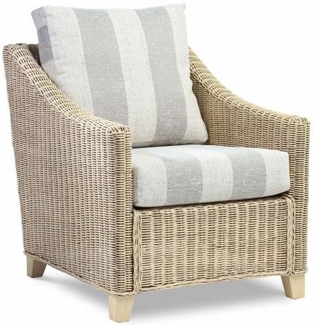Desser, Dijon, Natural Wash, Cane Arm Chair