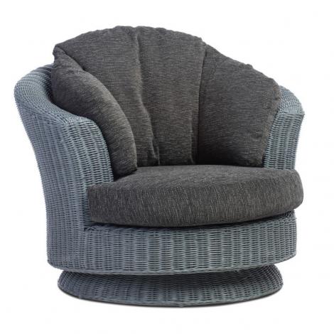 Desser, Dijon, Grey Frame, Lyon Swivel Chair