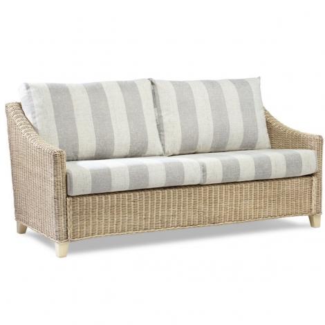 Desser, Dijon, Natural Wash, Cane 3 Seater Sofa