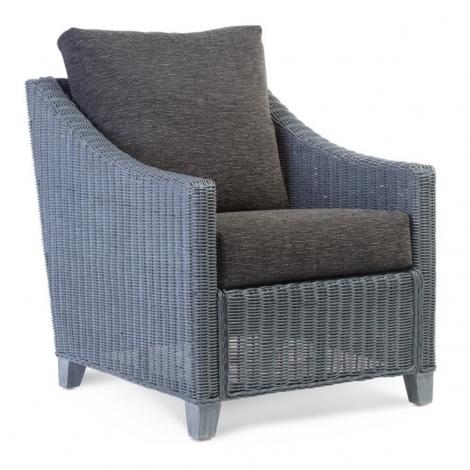 Desser, Dijon, Grey Frame, Cane Arm Chair