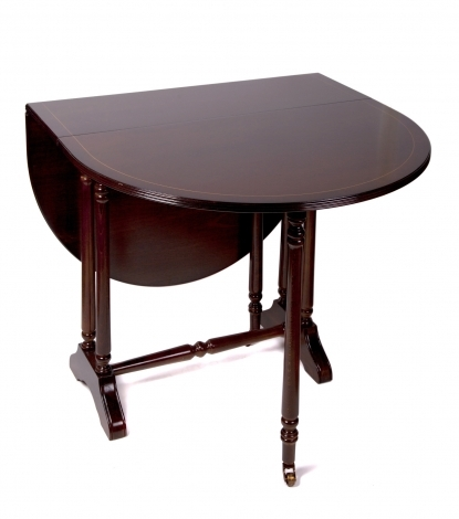 Ashmore Antique Reproduction, Sutherland Drop Leaf Dining Table